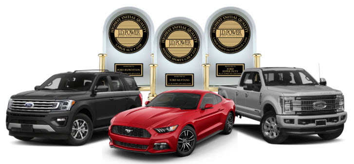 Jd Power Initial Quality Award >> Jd Power Names Ford The Most Awarded Brand In Initial Quality