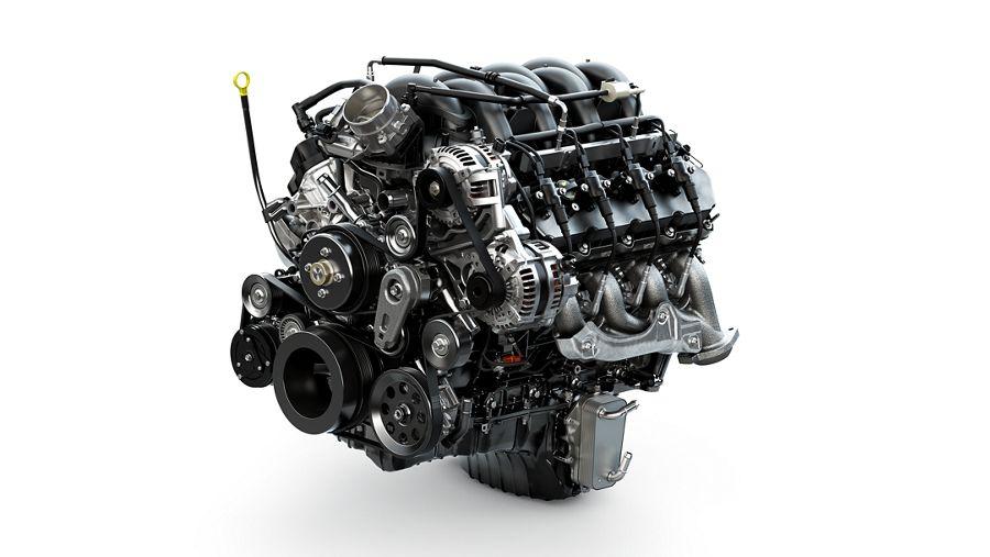 gas engine    ford super duty work truck